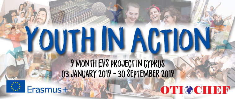 YouthInAction EVS Banner